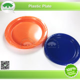 7 pouces de plaque en plastique ronde