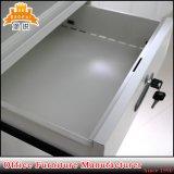 Cabinete de archivo de acero del metal de los armarios de la oficina de los medios muebles de cristal de la puerta deslizante