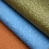 装飾のための標準的なPUの革、Teryleneの綿T/Cの背皮