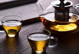 아름다운 붕규산 유리 커피 잔 유리 컵