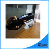 Unité de collecte de données androïde sans fil avec le scanner de code barres et l'imprimante thermique