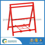 Qingdao, metal, señal, marco, hierro, pavimento, señal