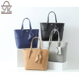 Tote PU Leather Leisure Women Designer Handbag