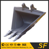 PC200 Vの下水管のバケツか台形バケツまたは溝を堀るバケツ