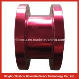 Flangia di alluminio anodizzata rossa