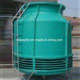 開いたタイプカウンターの流れ円形水冷却塔