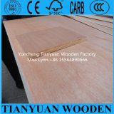 Linyi 4*8ft Bintangor/Okoume Veneer Commercial Plywood Poplar Core Furniture Plywood