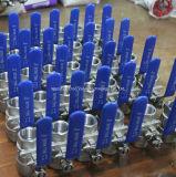 шариковый клапан нержавеющей стали 2PC с сертификатом Ce (Q11F-64P)