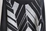 Il manicotto lungo degli uomini di inverno ha modellato i maglioni lavorati a maglia