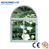 Roomeye schalldichte neue PVC/UPVC Plastikbogen-schiebendes Fenster-Entwürfe für modernes Haus