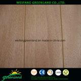 madera contrachapada de 12m m Sloted, base de la madera dura, pegamento fenólico y película de Okume