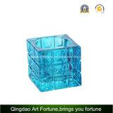 Sostenedor de vela de cristal de Tealight del cubo Afch-T6568
