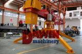 Boum hydraulique monté par camion de pompe concrète avec la remorque de 4 roues