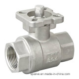2PC Ball Valve con ISO5211