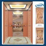 com o elevador luxuoso do clássico do hotel do projeto do quarto da máquina