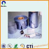 Лист PVC пластмассы прозрачный с маскировать пленки PE