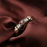 I nuovi monili di modo Diamante-Hanno fissato il braccialetto aperto del braccialetto della lega lucida di fascino per le donne