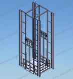 elevatore telescopico della piattaforma del carico 3000-5000kg per le merci