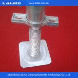 Échafaudage en acier de Ringlock de matériau de construction de HDG