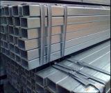 Los materiales de construcción de la construcción galvanizaron el tubo de acero/el tubo hueco del acero del cuadrado de la sección