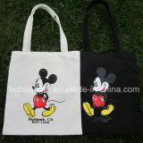 Presente relativo à promoção saco Foldable personalizado do algodão do logotipo para a compra