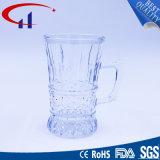 200ml Mão-Cortou o copo de vidro da cerveja com mão (CHM8362)