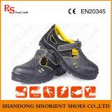 Zapatos de seguridad de acero del verano de la punta, especificaciones del zapato de seguridad (RS5856)