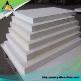 Placa de fibra cerâmica elevada do zircónio