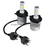 lámpara principal de la MAZORCA LED de 36W 4000lm 6500k H4 S2 con el ventilador