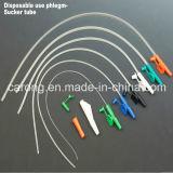 Catetere medico di aspirazione di controllo della barretta del PVC