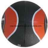 Baloncesto bicolor de la talla 7 con la vejiga butílica