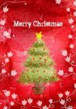 2018年のクリスマスの挨拶状/音楽挨拶状/誕生日音楽カード