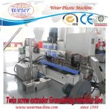 평행한 쌍둥이 나사 PP PE PVC WPC는 Productiion 선을 산탄