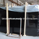 Carrelages de marbre de noir de jade d'encre de la Chine