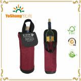 Singoli sacchetti di Tote resi personali del vino della bottiglia della vigna