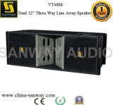 "3 Methode Dual 12 "" Line Array DJ Speaker für Hall"