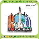 Сувенир с магнитами холодильника Buri Khalifa конструкции 3D подгонял выдвиженческие подарки Дубай (RC-DI)