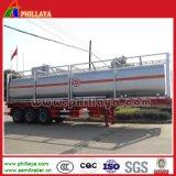 45000 литров тележки бака Tri-Axle химически жидкостной