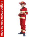Des Halloween-Partei-Kleid-Jungen des Kindes Feuerwehrmann-Rollen-Spiel-Kostüm-Set