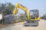 excavador hidráulico de la correa eslabonada 4.5ton