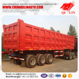 반 30cbm 50ton 탑재량 덤프 팁 주는 사람 트럭 트레일러