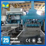 Bloco oco concreto do cimento automático que dá forma à máquina