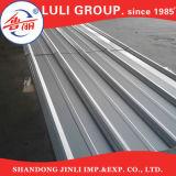 Feuille galvanisée élevée de toit de zinc ridée par Chine de quantité