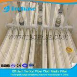 Filtro de pano da fibra de Vertifical melhor do que o filtro de areia