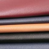 cuir synthétique d'unité centrale de Cuir Taiga d'épaisseur de 1.2mm pour les sacs à main des femmes