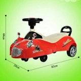 Auto-Form-Baby-Schwingen-Auto mit Musik-preiswertem Preis-Großverkauf