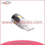 T10 194 W5w leiden van de Auto van de Lamp Canbus van 6*5730SMD Auto met Lens