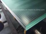 Ausgeglichenes lamelliertes Fußboden-Glas