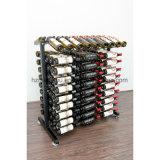 Mensola di visualizzazione del metallo del collegare del vino delle bottiglie della mobilia 27-360 dell'isola con la cremagliera di alta qualità