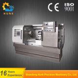 心押し台が付いているCk6136Aの中国人2の軸線の趣味の合金の車輪CNCの旋盤